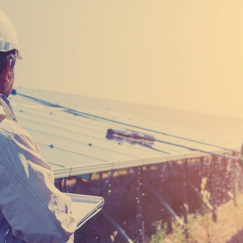Safety management in the Solar panel industry