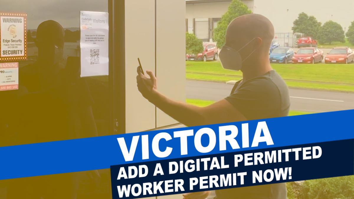 Victorian Workers Permit